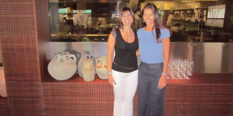 Arquiteta Erlise Tancredi com Mayra Chinelato